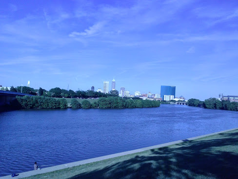 Indianapolis from White River Park